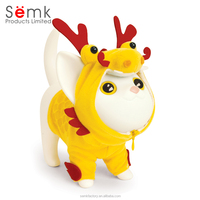 Customize figurine plastic animal resin figurine for kids collection gifts