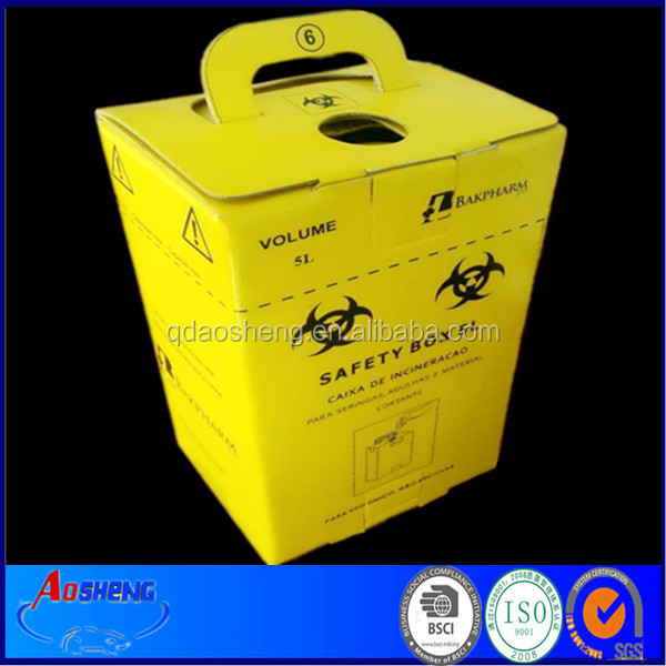 Medical safety puncture resistance sharp container 5L