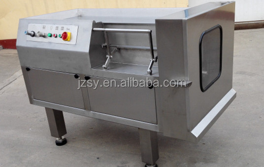 Best selling SY-QDJ550 Large Frozen meat dicing machine/fresh beef cube cutting machine price