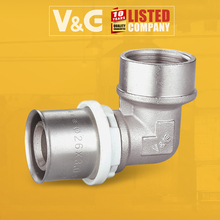 Factory Directly Provide Male Female Pvc Pipe Fittings Chart