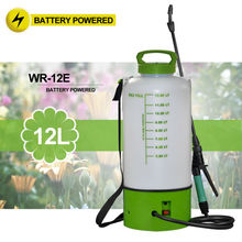 (10102) backpack no pump sprayer on wheels battery operated portable garden spray