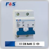 230v 2p mini circuit breaker, 2 phase mini circuit breaker, miniature circuit breaker /mcb/disjuntor