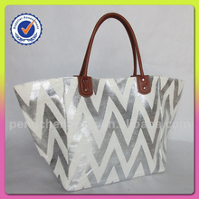 Fashion Golden Beach Bag For Woman Latest Design Beach Bag For Woman