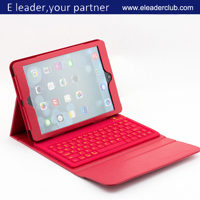 Leather Case Cover with Wireless Bluetooth Keyboard For iPad Air