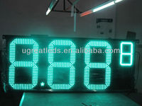 2015 Amazing 24inch 8.88 9/10 LED gas price sign,waterproof,for gas station