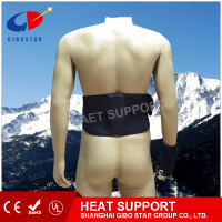 Stock in physical therapy waist belt,relief pain and keep warm/back support, Far infrared heated element, rechargable battery