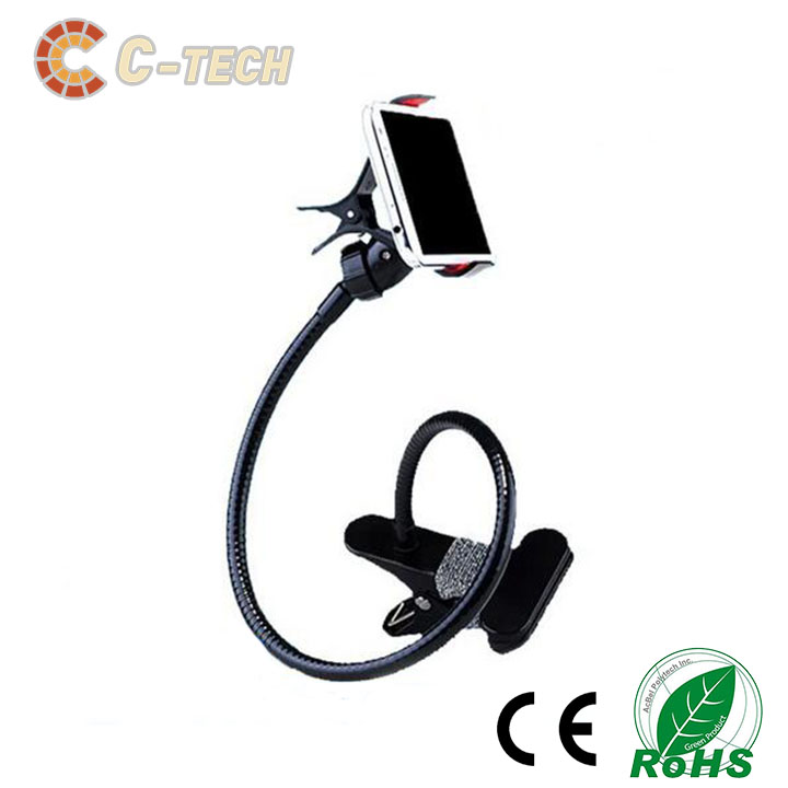 Hot Promotion plastic flexible cap mobile phone holder from C-tech Company