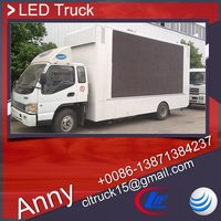 JAC 4x2 mobile led billboard truck,truck led tv screen,used led advertising truck