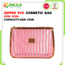 Personalized Satin Womens Eva Zipper Plastic Yiwu Transparent Lip Shaped Private Label Travel Clear Pvc Cosmetic Bag