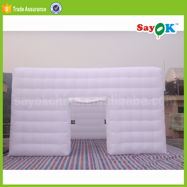 outdoor used inflatable lawn tent inflatable event party cube tent camping rental