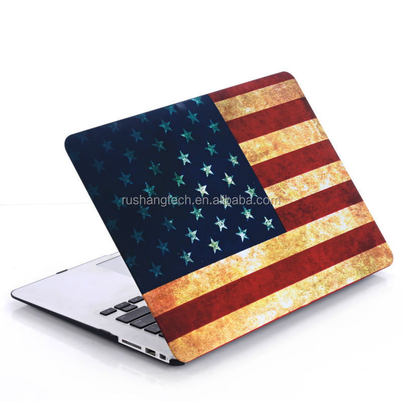 Hot sell pattern hard case for macbook pro,rubberized hard case for macbook pro,case for macbook a1181