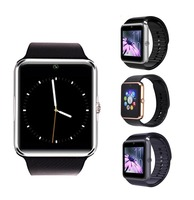 ZY08 China Cheap Smart Watch Phone with Camera, GT08 Smart Phone Watch with Touch Display