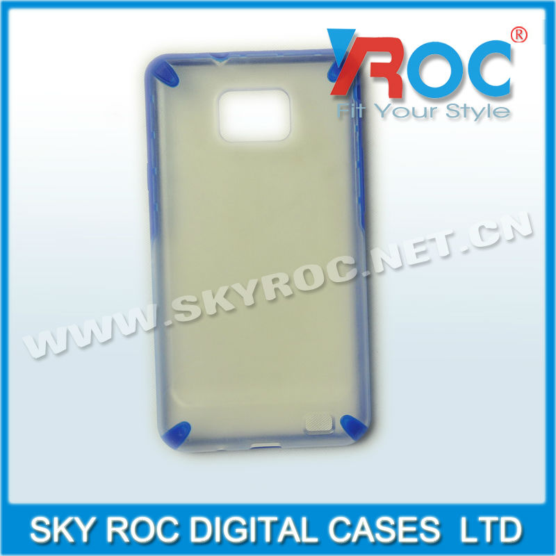 2013 fashion and durable protective back cover for samsung i9100 galaxy s2