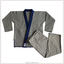 jiu jitsu gi uniforms100% cotton pearl weave fabric with embroidery and woven patches japanese kimono pattern