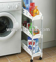 3 Tier Compact Storage Caddy / Storage Cart / Storage Trolley