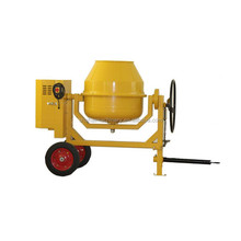reliable and safety concrete mixer with hoist/diesel concrete mixer with CE