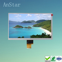 ANATSR 500nits 8 inch tft LCD display module with high brightness 1024 * 600p