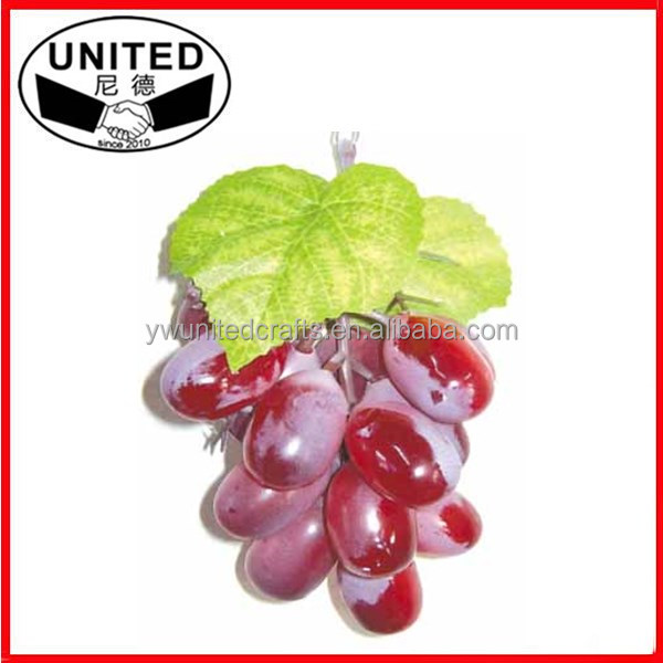 Fake Fruits Artificial Grape Bunch/Cluster For Wedding Party Decoration