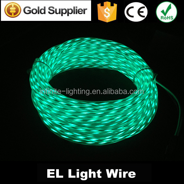 2015 New arrival high quality Attractive electroluminescent wire/Electroluminescent wire,glow EL wire