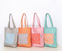 Waterproof fashion cute animal polyester foldable shopping bag