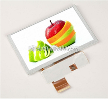 5 Inch TFT Lcd Module 480*272 RGB interface for outdoor handheld devices ( PJT500H10H31-200P40N-B )