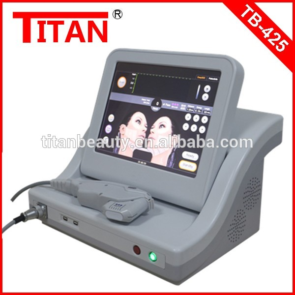 TB-425 Ultra Age HIFU Skin Cleansing System Face Smooth Device / Hifu Ultrasound Wrinkle Smooth