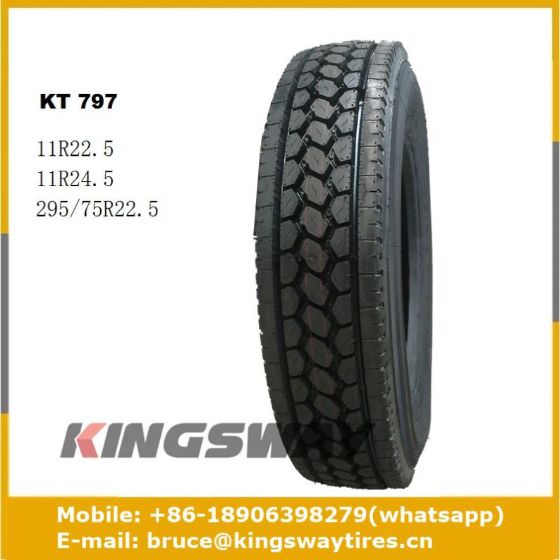 Whole Sale Semi Tire 295 75 22.5 Truck Tire Trailer Tires 8-14.5 For Sale