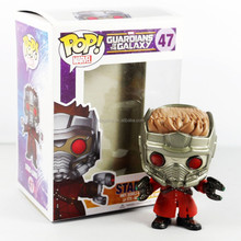 New Funko POP! Star-Lord Marvel Guardians of The Galaxy Pop #47 Bobble-Head Vinyl Action Figure