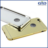 [GGIT] New Arrival Mirror Luxury Metal Phone Case for IPhone 6, Cover Case for IPhone 6