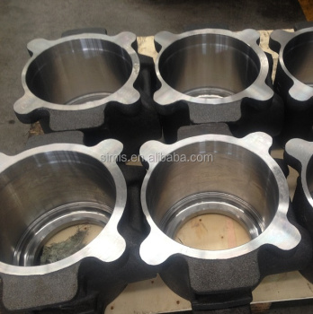 China 46KG GOST railway sand casting steel axle bearing box manufacture