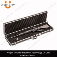 Silver Color Cheap Aluminum Tool Case for Military Gun Use