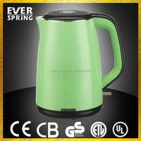 New Design 360 Degree Rotation Stainless Steel mini electric jug kettle can send job lots