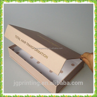 custom hair extension packaging box, packaging box for hair extension