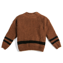 Latest Kids Clothing Unique Heavy Mink Cashmere Sweater Hand Knit Wool Baby Sweater