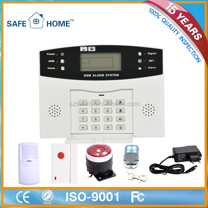 Factory Offers High Quality Not Gsm Intelligent Alarm System Manual Wholesale in China