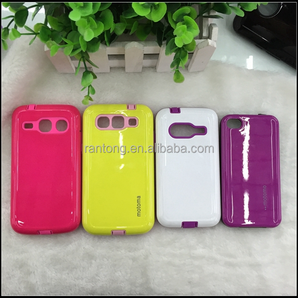 Hybrid Shock Dust Scratch Proof Camo Case for Samsung Galaxy s4