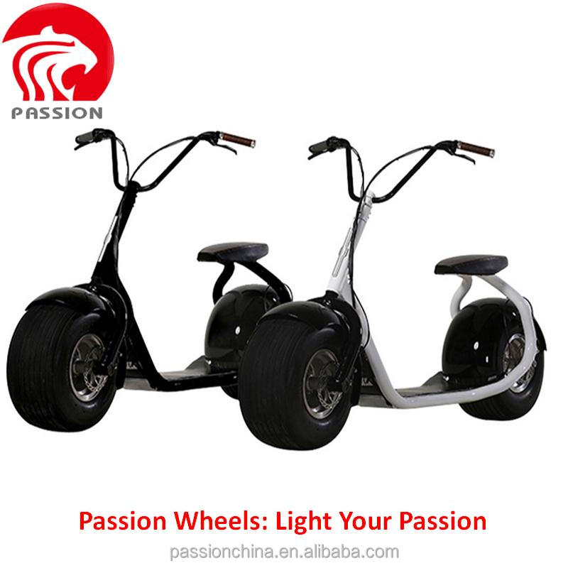 citycoco woqu scrooser style big wheel e city scooter, Electric Motorcycle for Adult Electric Motorcycle Hot