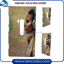 newest 3D sublimation phone case for Nokia Lumia 920,sublimation cell phone case,sublimation cover
