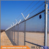 ISO9001 anping high quality hot dipped galvanized and pvc coated cyclone wire fence (Trade Assurance)