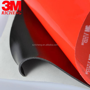Die Cut Black 3M Tape Vhb 5952 Double Sided Adhesive Acrylic Foam Tape, we can make square, rectangle, round