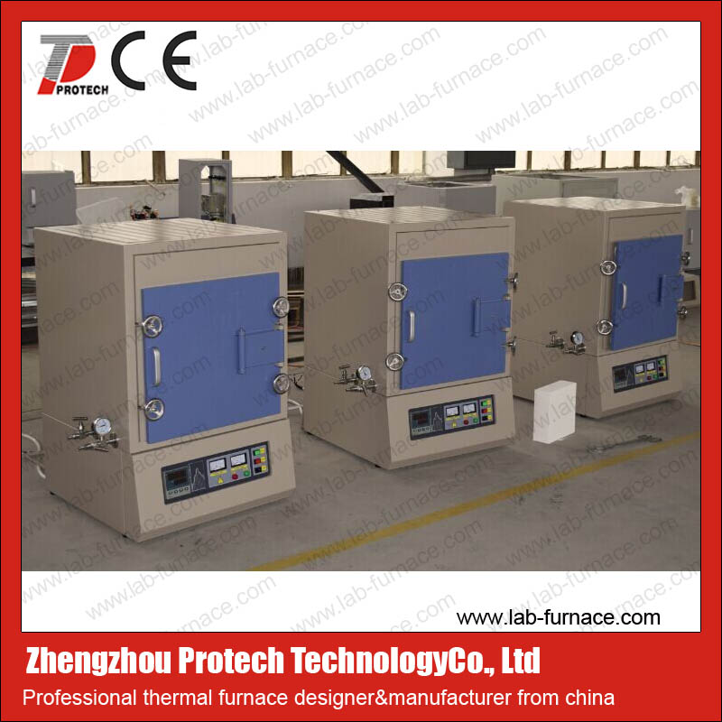 lab use digital electric gas forge furnace