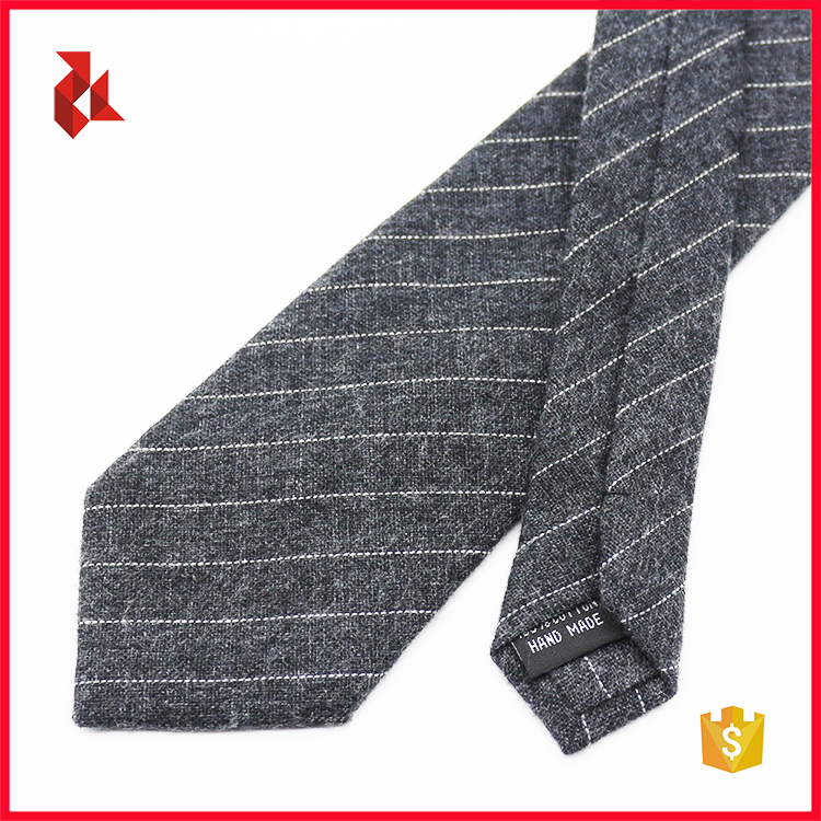 2018 New Design 100% Cotton Striped Ties for Men