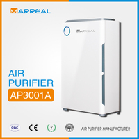Home multifunctionc heap carbon air purifier with hepa air cleaners
