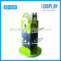 point of purchase cardboard hook display stand for dog food