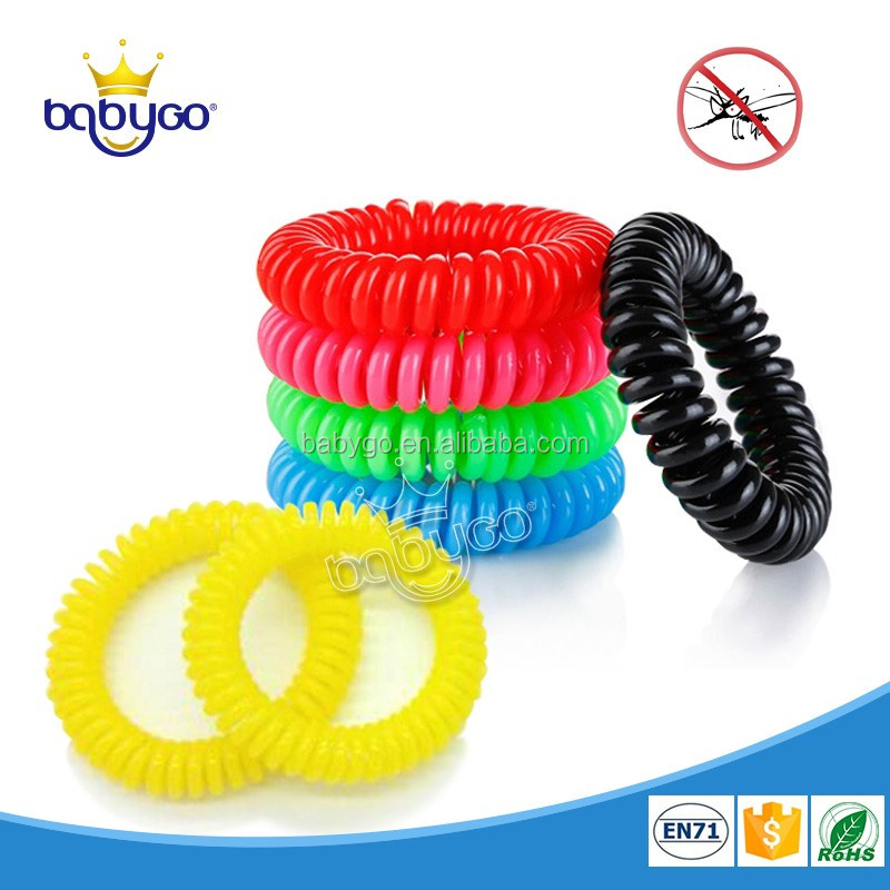 Multi-color stocked insect repel safety mosquito coil band