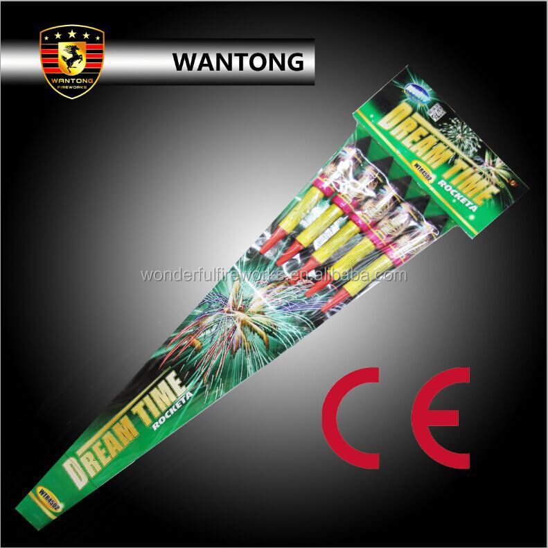 CE approved Wholesale liuyang fireworks factory rocket pack fireworks for sale