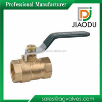 Forged Handles High Quality Brass Green Handle Ball Valve For Water Meter High Pressure Antique popular