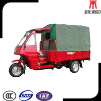 Useful Cargo 150cc Tricycle Motorcycle, 3 Wheeler Cargo Scooter, Closed Cabin 3 Wheel Motorcycle