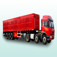 Steel Sheet Van Trailer
