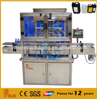 THE ONE CE certification factory price piston filler 2 head 5000ml honey filling machine price cream lotion filling machine
